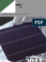 Fraunhofer ISE AnnualReport 2011
