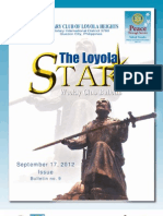 Loyola Star September 17, 2012