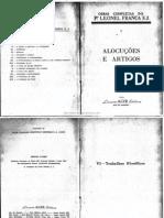 Leonel Franca, Alocuções, Tomo II
