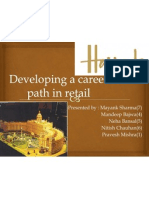 Developing a Career Path in Retail(Harrods)