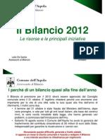 BILANCIO DEL COMUNE DE L'AQUILA