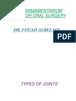Basic Armamentarium for Minor Oral Surgery