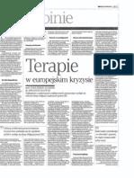 H.B. Schaefer, A. Radwan - Terapie w Europejskim Kryzysie - Rzeczpospolita - 18 09 2012