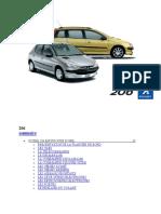 Peugeot 206 manuel d'utilisation (2002)