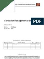 WMC_Contractor Management Standard