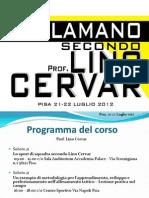 La Pallamano secondo Prof. Lino Cervar