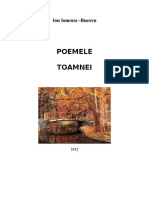 Poemele Toamnei Ion Ionescu