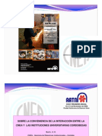HUGO MARTIN ATOMICA CORDOBA RELACION CNEA-UNIVERSIDADES + COMUNICACION