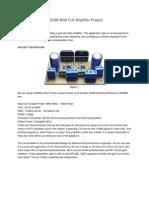 LM3886 Gainclone 2x68 Watt Full Amplifier Project