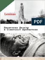 Lenin Statues in the Soviet Baltic Republics