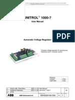 Unitrol1000-7 User Manual 4.4c