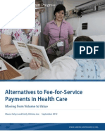 Alternatives to Fee-for-Service Payments in Health Care