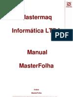 Manual MasterFolha