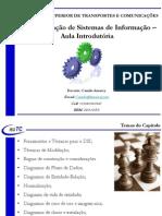 Aula 15 - Capitulo 05 - PDSI - Aula 01 - Aula Introdutória de Implementação de Sistemas de Informação