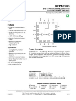 DataSheet Amplificador - RFPA0133DS