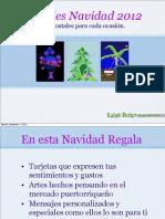 Postales de Navidad por Carmen Lebrón-Anaya