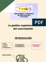 La Gestion Organizacional Del Conocimiento