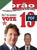 Bofete/SP - Realizações 2009-2012 - Metas 2013-2016