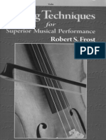 String Techniques for Superior Musical Performance - Violin
