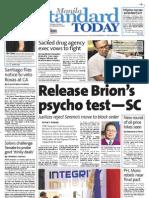 Manila Standard Today - Wednesday (September 19, 2012) Issue
