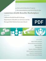PR plan to market CA health care exchanges