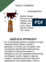 Petroleo y Carbono