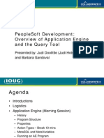 Peoplesoft Development Overview Application Engine