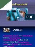 AsidosisRespiratorik