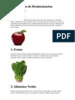10 Alimentos de Desintoxicacion