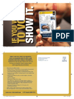 Voter ID Flyer