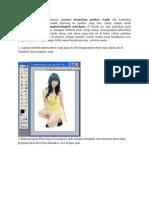 Belajar Photoshop Bagaimana Caranya Memotong Gambar Wajah Dan Kemudian Memasang Wajah Yang Sudah Dipotong Ke Gambar Yang Lain