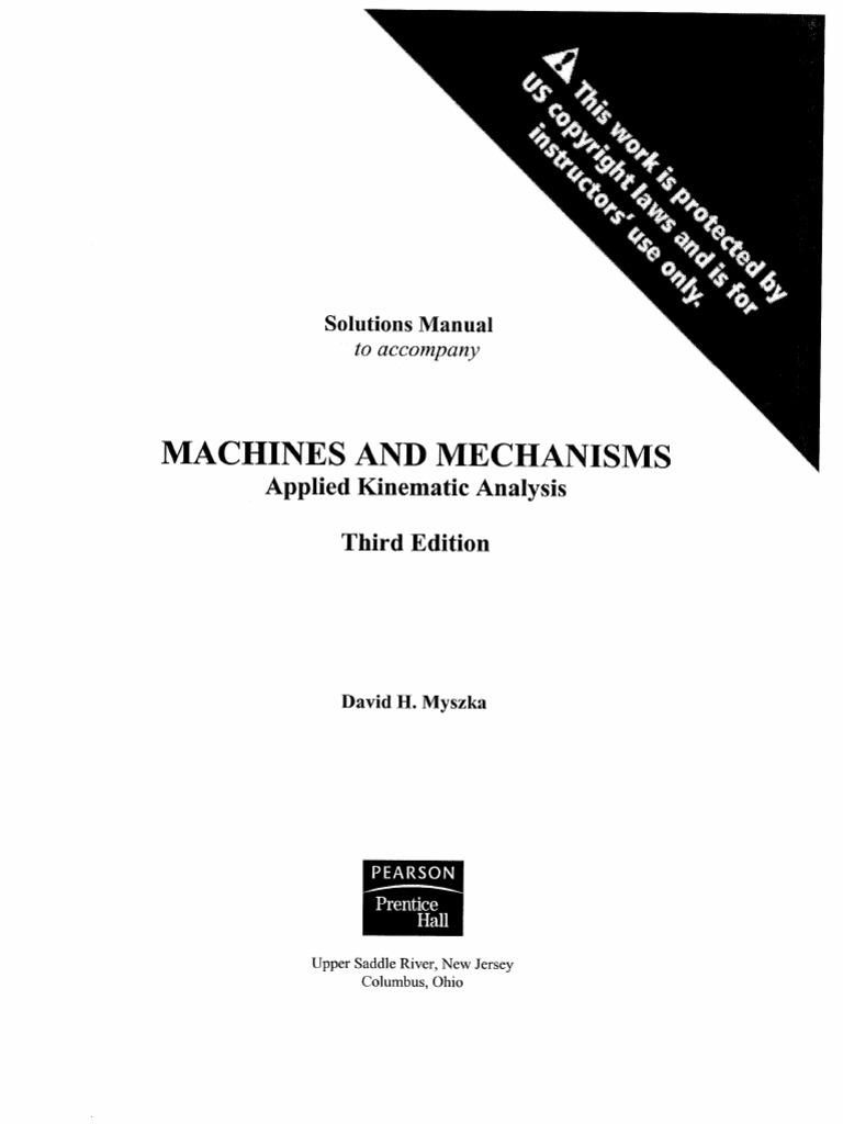 machines and mechanisms rh pt scribd com Extreme Machine Extreme Machine