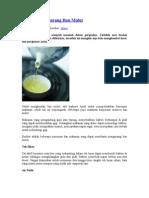 Makanan Pengurang Bau Mulut