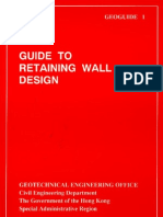 Geo HK Guide to Retaining Wall