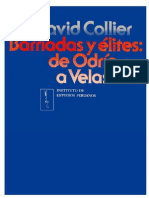 Barriadas y élites. De Odría a Velasco - David Collier