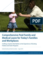 Comprehensive Paid Family and Medical Leave for Today's Families and Workplaces