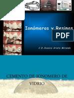 Resinas y Ionómeros