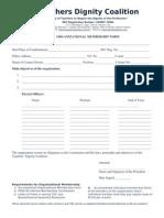tdc membershipforms