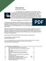 NET Checklist