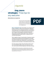 What Every Executive Should Now By  Mckinsey Quarterly