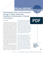 Environmental Stress and Demographic Change in Nepal