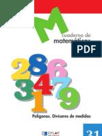 Cuaderno Matematicas 31 - Dylar