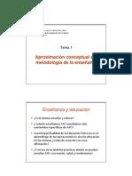 Metododología AFyD (Tema 1)