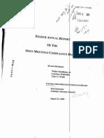 OMCB Report 8 2000