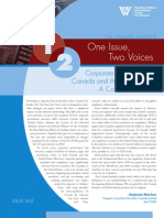 Corporate Governance in the United States and Canada