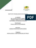 Manual Proxy ubuntu