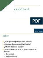 Responsabilidad Social Paul Remy