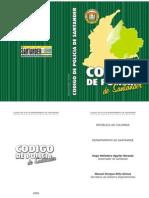 Codigo Policia Santander Colombia