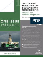 The Risk and Regulation of Deepwater Off-shore Drilling