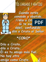 CUANDO ESTÉS CANSADO Y ABATIDO